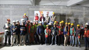 Reinauguración del aula Metropolitana de Quiero Casa