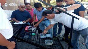 Concluye curso de electricidad en Palenque