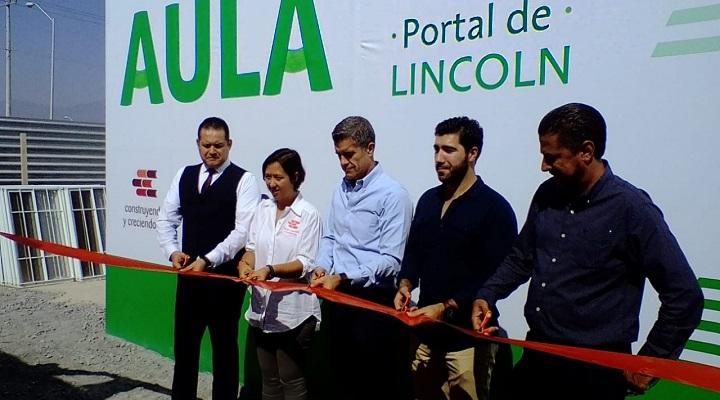 Inauguramos el aula Portal Lincoln de Vidusa
