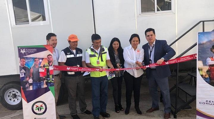 Inauguramos aula en Aguascalientes con GAP